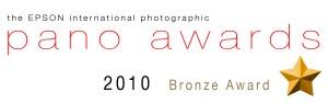 Bronze Award 2010 Epson Panorama Awards