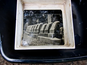 Tintype in the wash