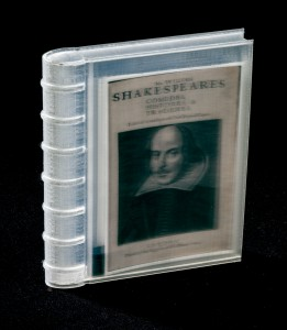 larger Shakespeare book