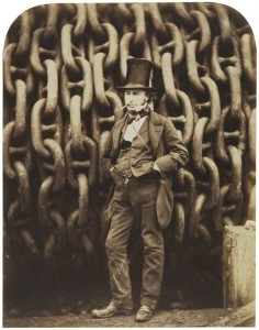 Isambard Kingdom Brunel by Robert Howlett